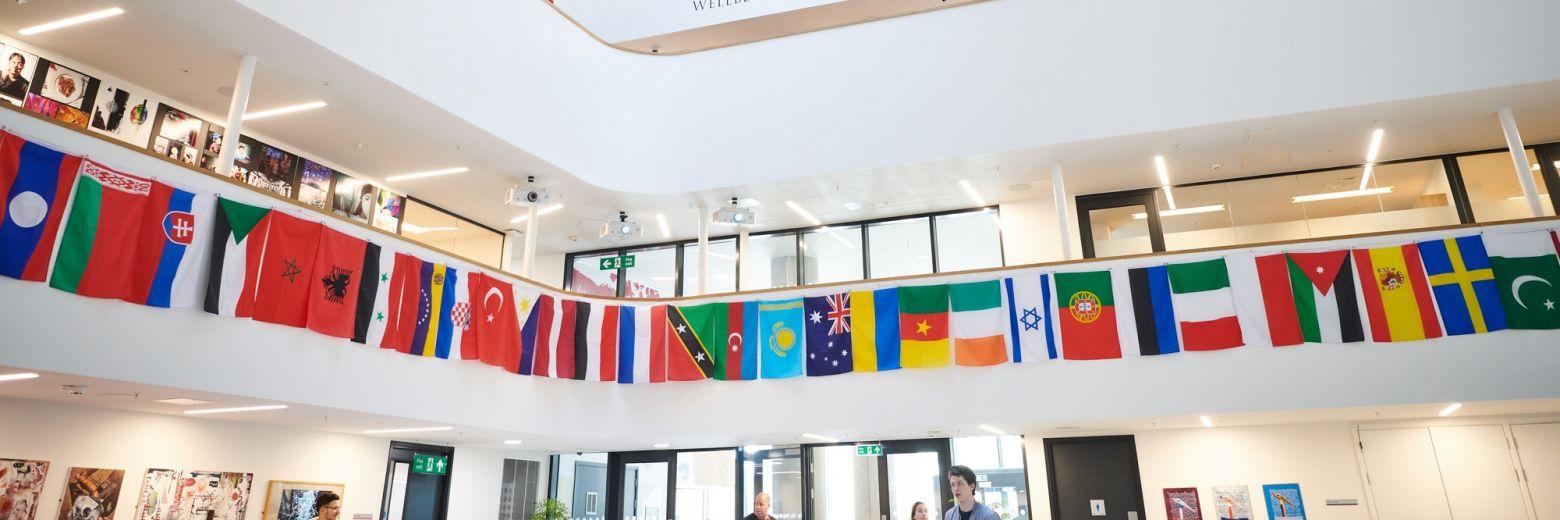 DLD College London atrium