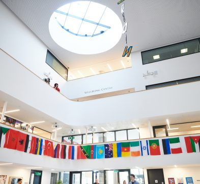 DLD College London atrium
