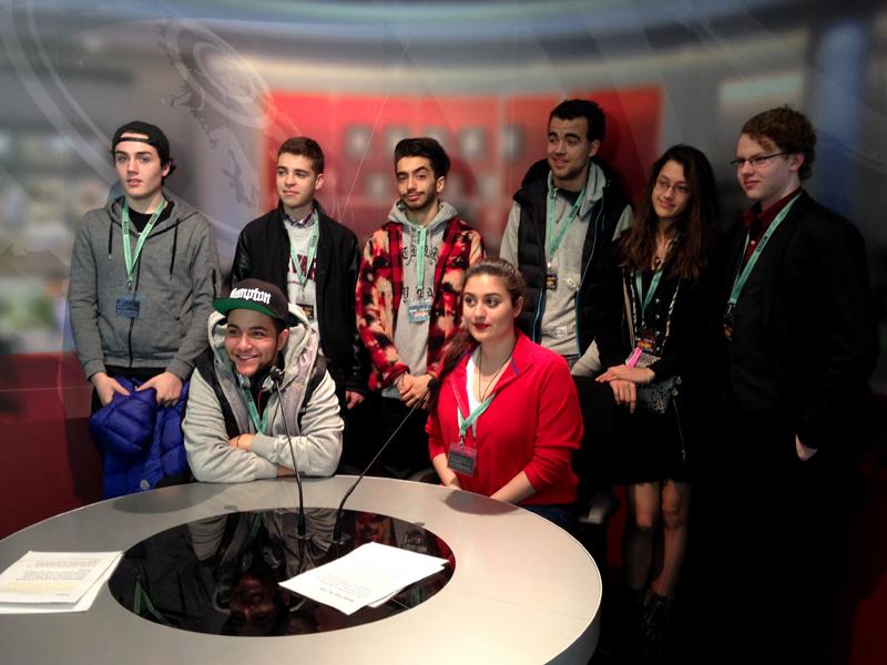 DLD BTEC Media Production Group at BBC
