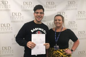 DLD College London BTEC Results 2019