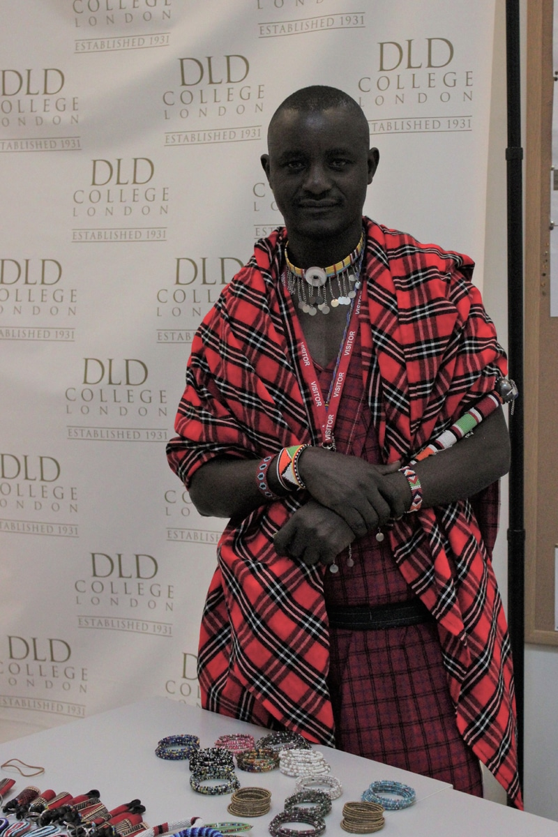 DLD College London Event:  Maasai Guest Speaker