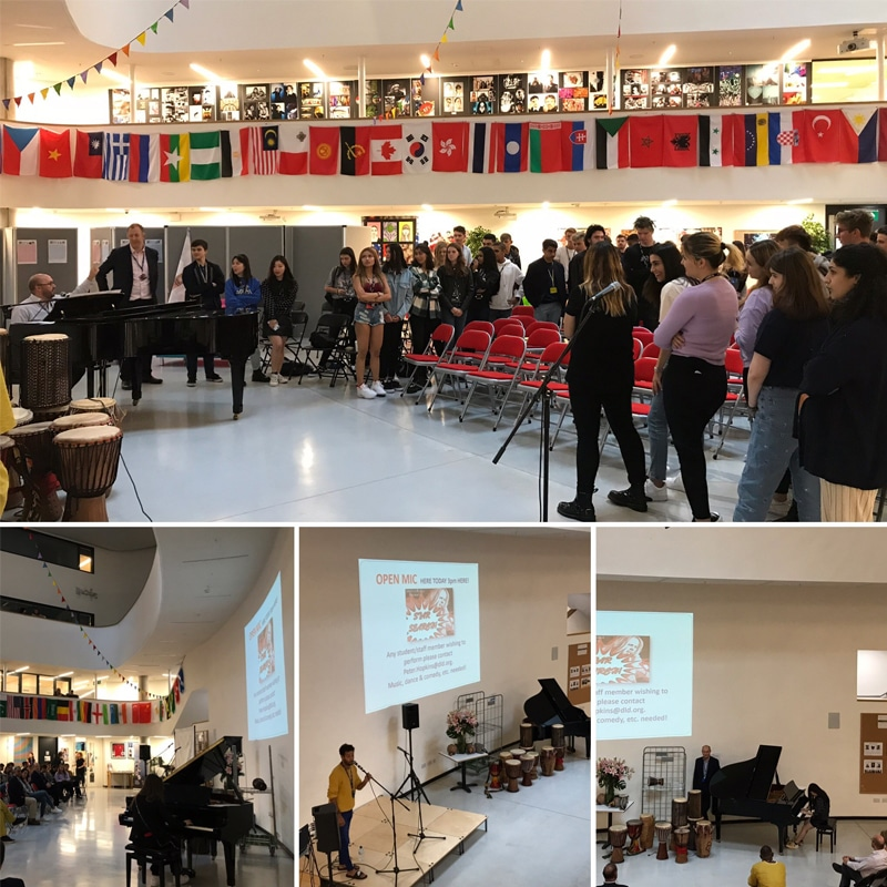 DLD College London Open MIC Event