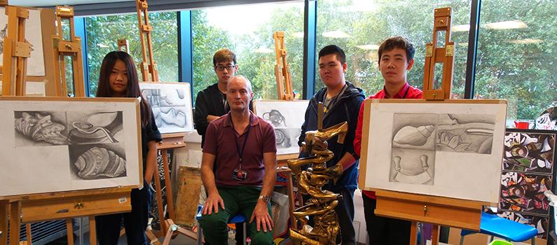 DLD College London Art Foundation