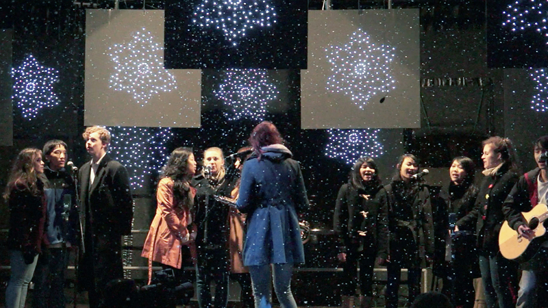 DLD Vocal Group at Marylebone Lights