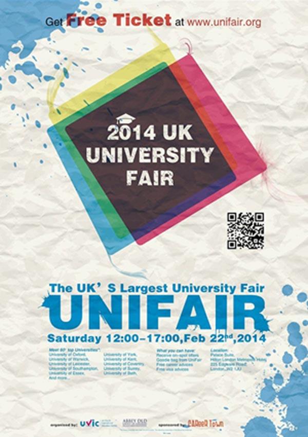 Visit UVIC UniFair during half term