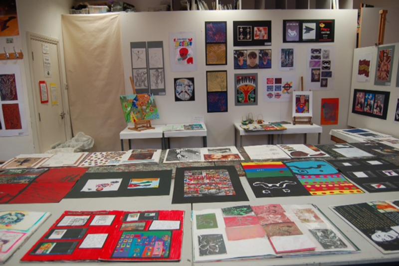 DLD A Level Art Exhibition