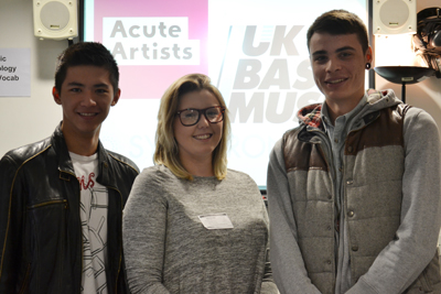 DLD College London BTEC and A level Music Students