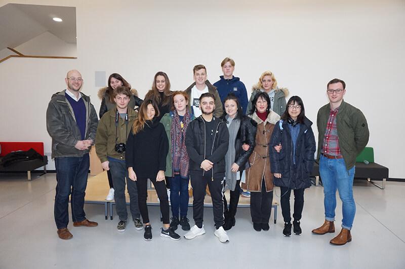 DLD College London Business A Level Students Visit Poland