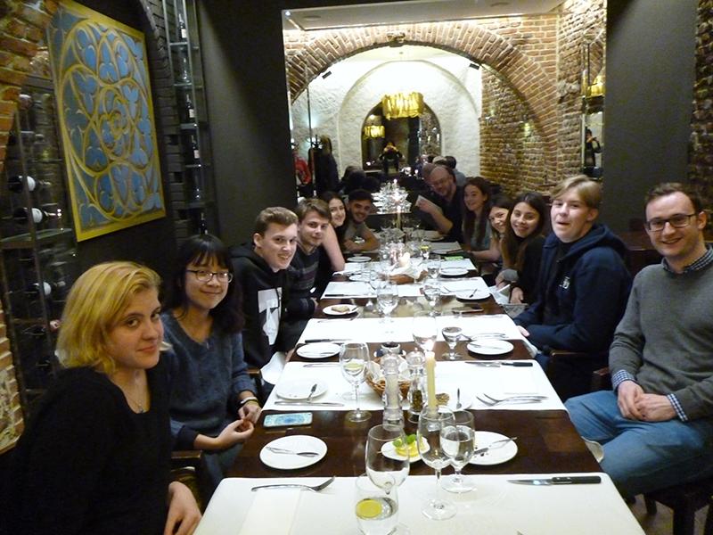 DLD Business Studies A-Level Students Visit Poland