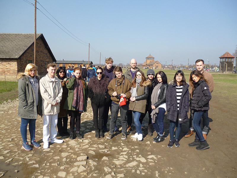 DLD A Level Business Students Visit Poland