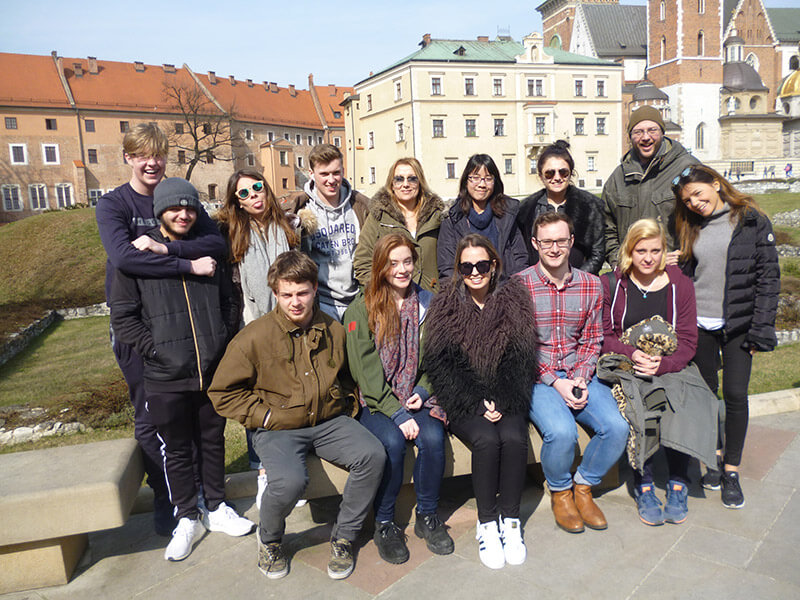 A Level Business Studies students in Poland