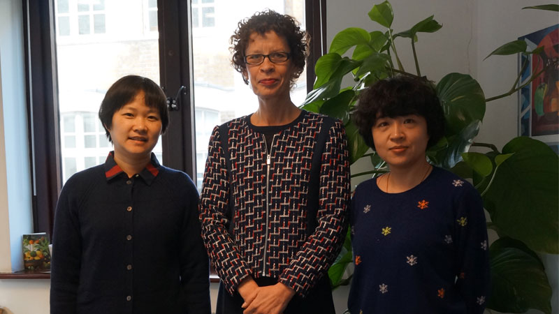 Shanghai International School Visit A Level students