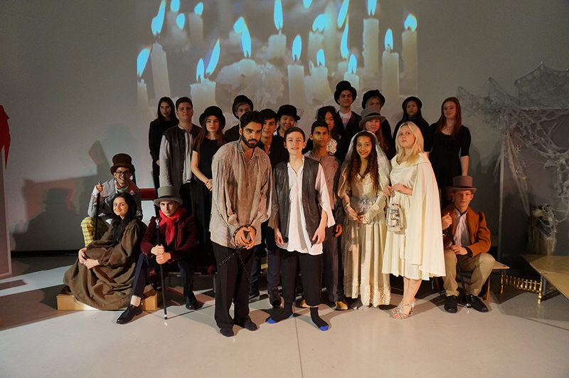 DLD College London A Level Drama Production of Great Expectations
