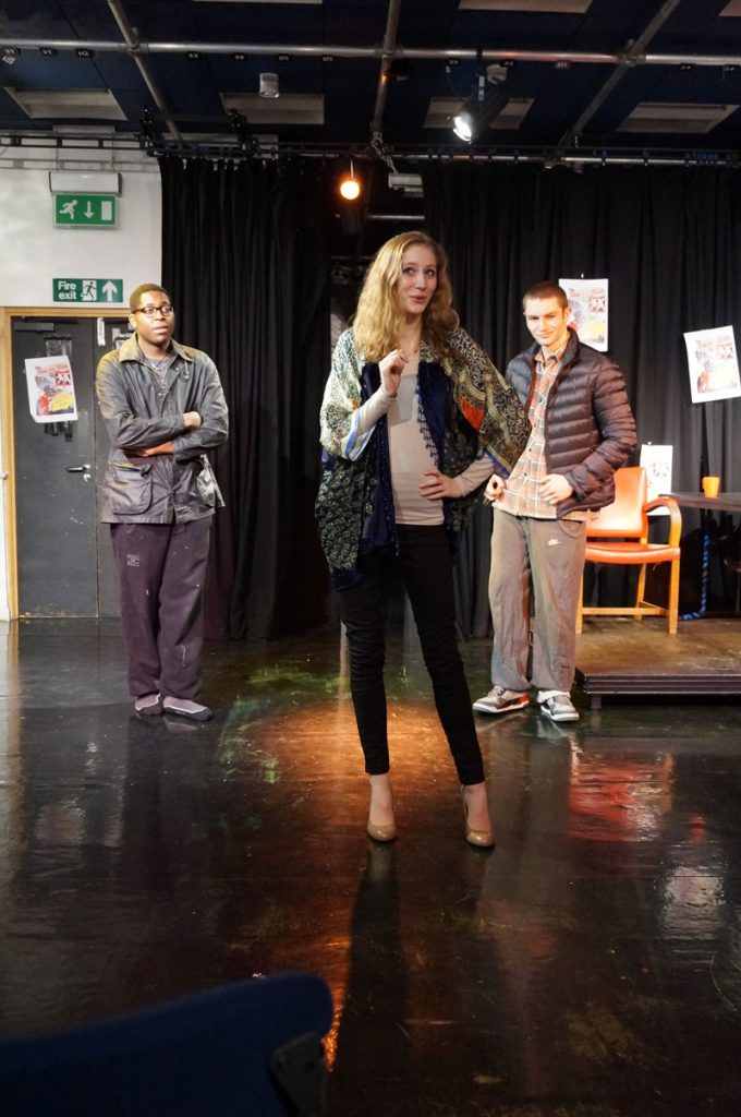 A Level Drama Performance