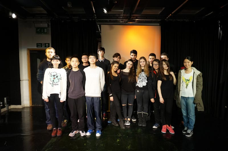 A Level and GCSE DLD Drama Students