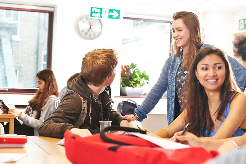 A-Level student Adi Illiya talks about DLD College London's new learning Centre.