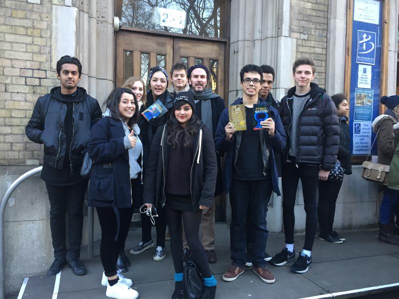 DLD College London A Level Religious Studies Ethics Matters Trip