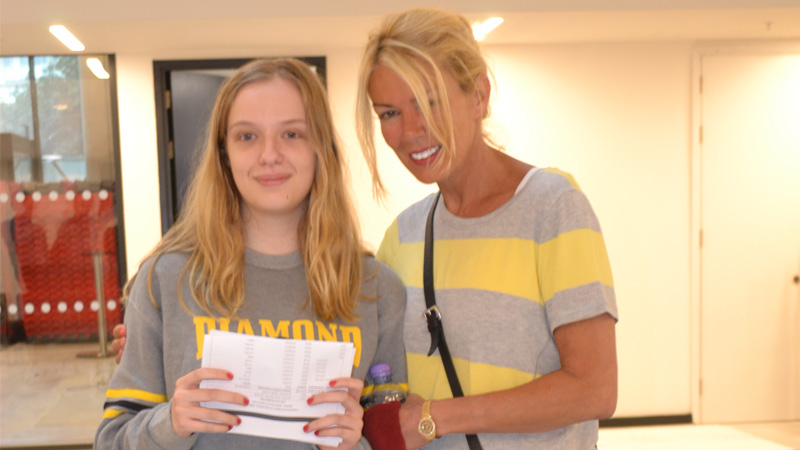 DLD College London A Level Results Day 2015