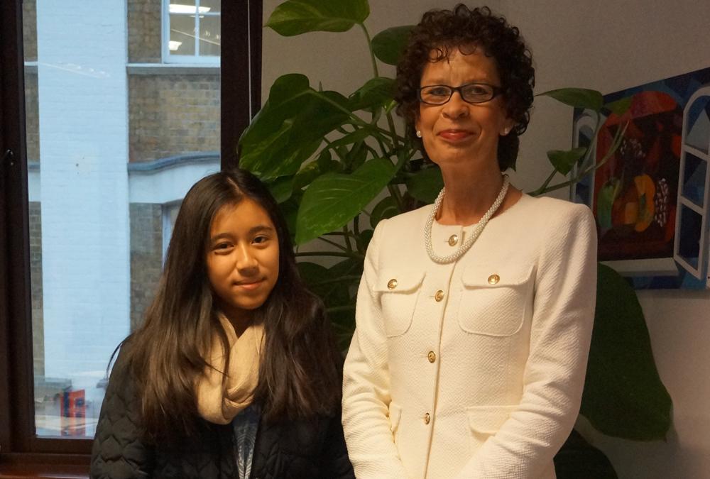 DLD College London GCSE Student Aliya