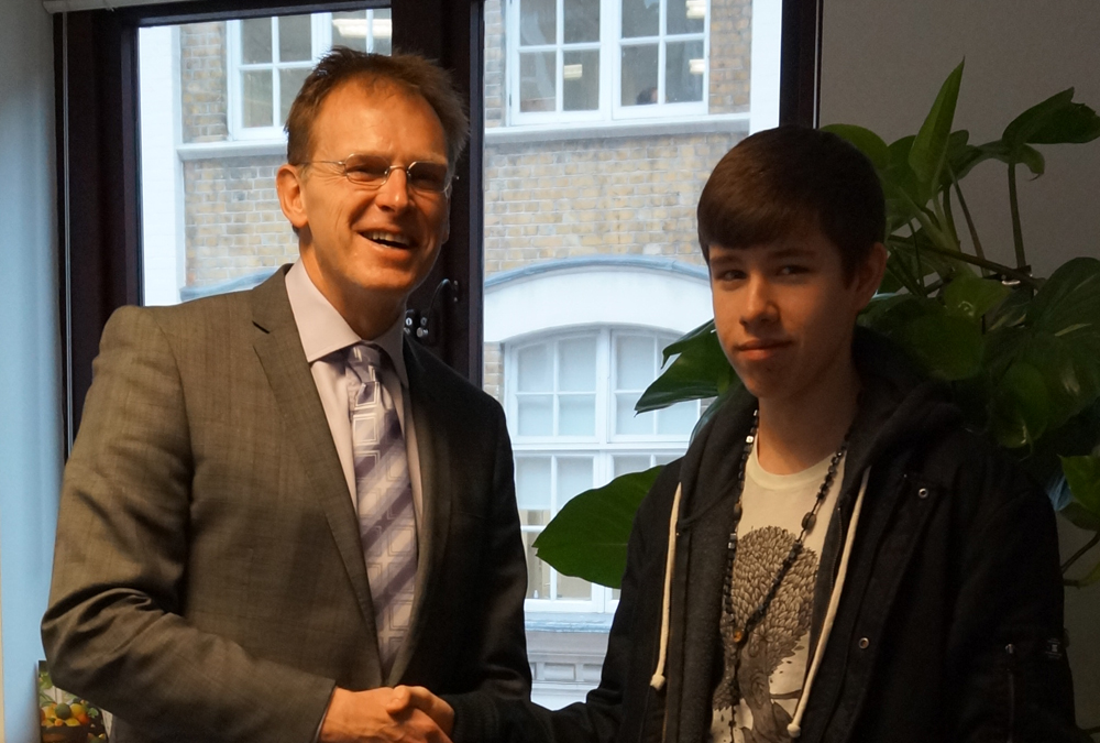 DLD College London GCSE Student Andrew