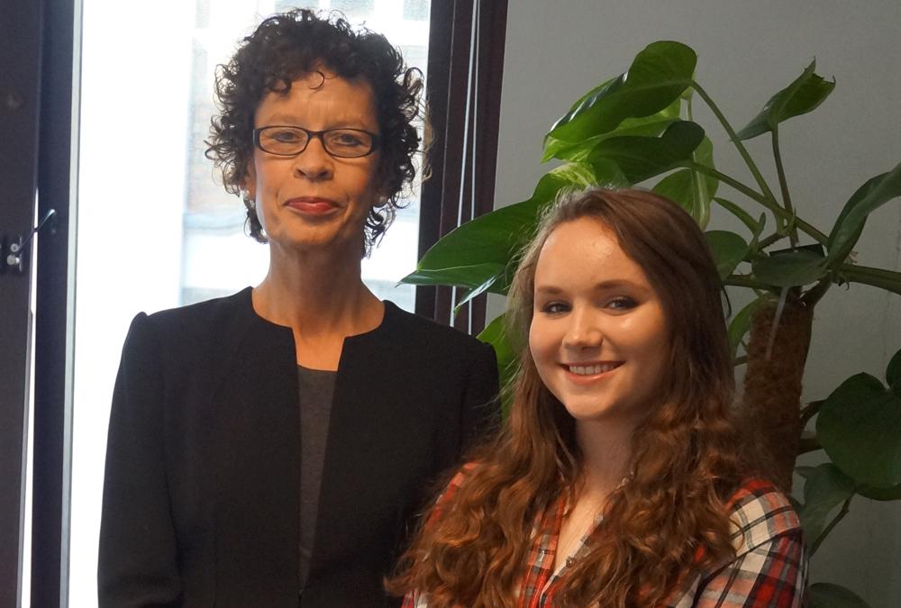 DLD College London GCSE Student Caroline