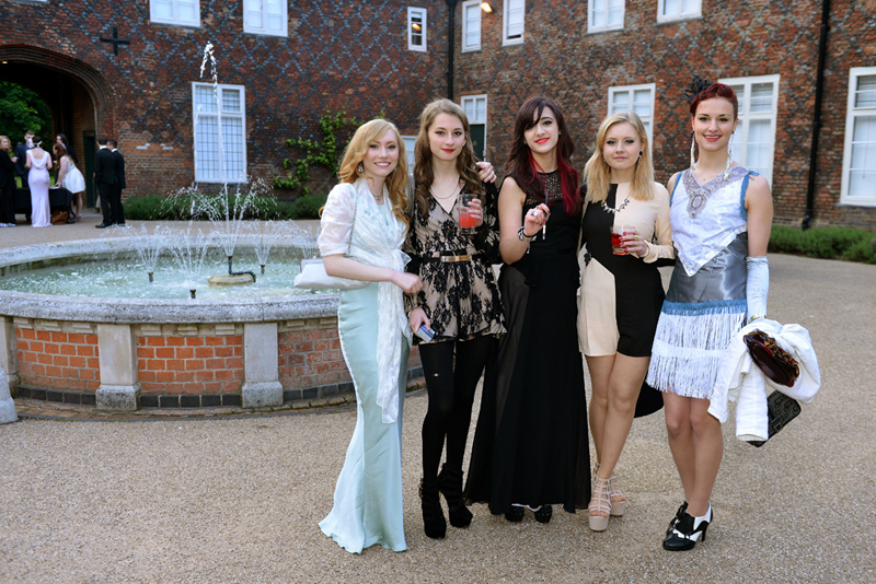 DLD College London A level Student Great Gatsby Prom