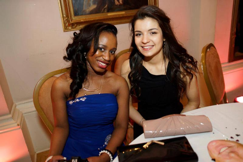 A Level Students at the DLD College London prom