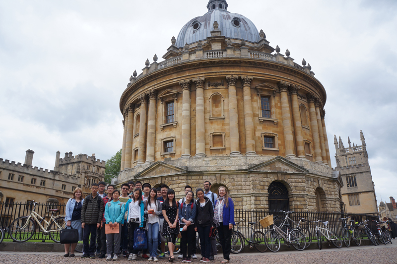 DLD College London A Level Students Visit Oxford
