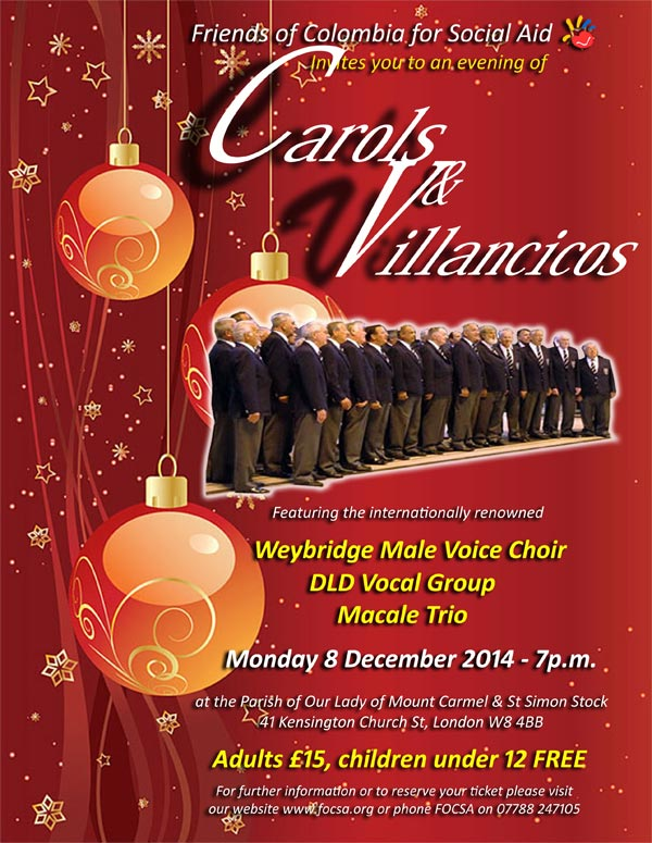 DLD A Level and GCSE Student Vocal Group Concert