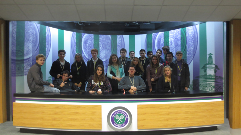 DLD College London A level business studies students at Wimbledon