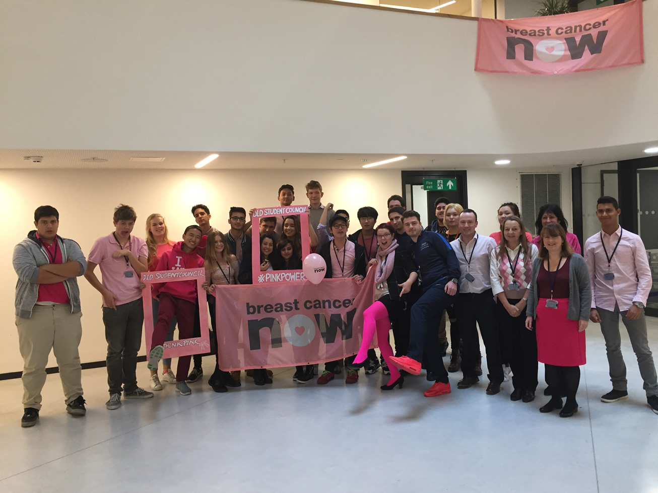 DLD College London Breast Cancer Awareness Day