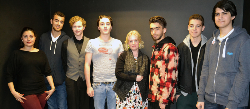 BTEC Media students meet the editor of Total Film