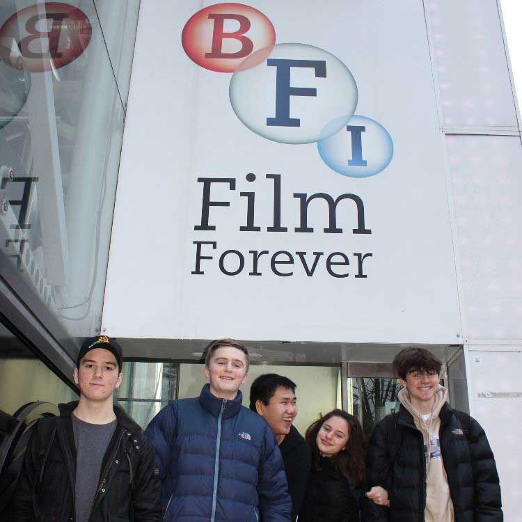 DLD College London BTEC Media Trip