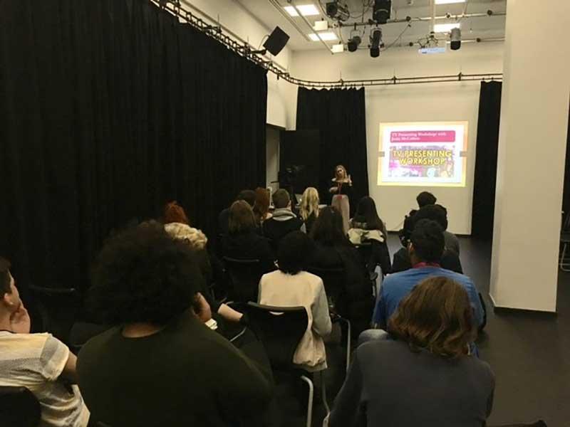 DLD College London BTEC Presenting Workshop