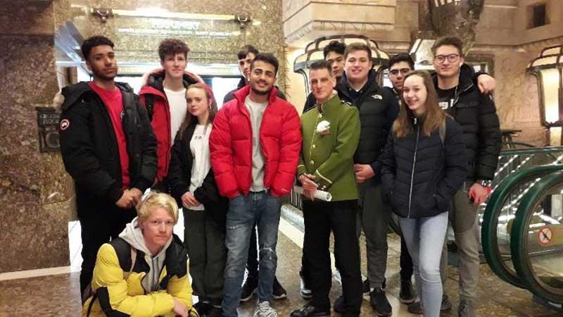 DLD College London BTEC Students Visit Harrods