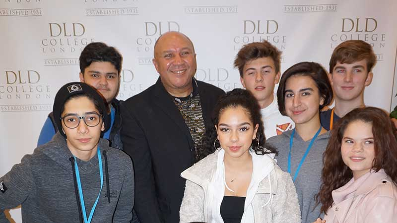 Keynote Speaker Chris Lubbe Inspires DLD College London Students