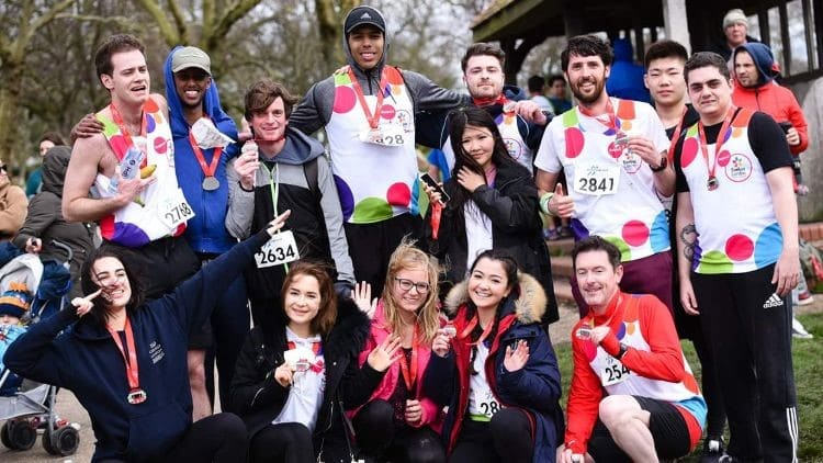DLD College London Evelina London Children's Hospital Runners