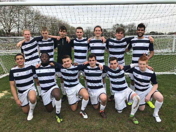 DLD College London Football Champions