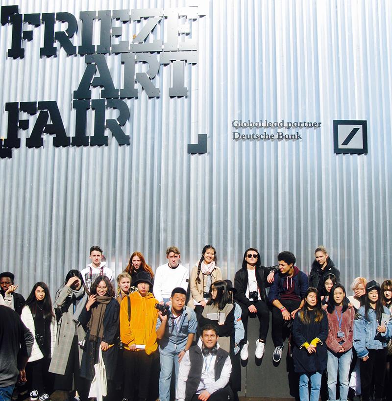 DLD College London Visit Frieze Art Fair