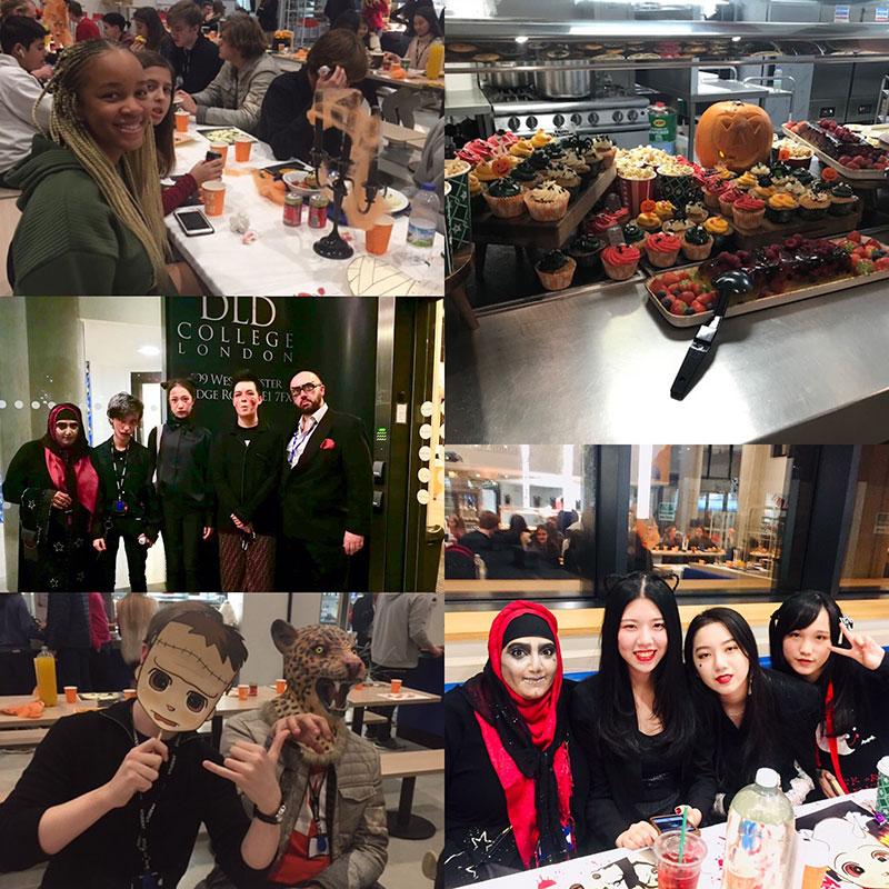 DLD College London Halloween Banquet