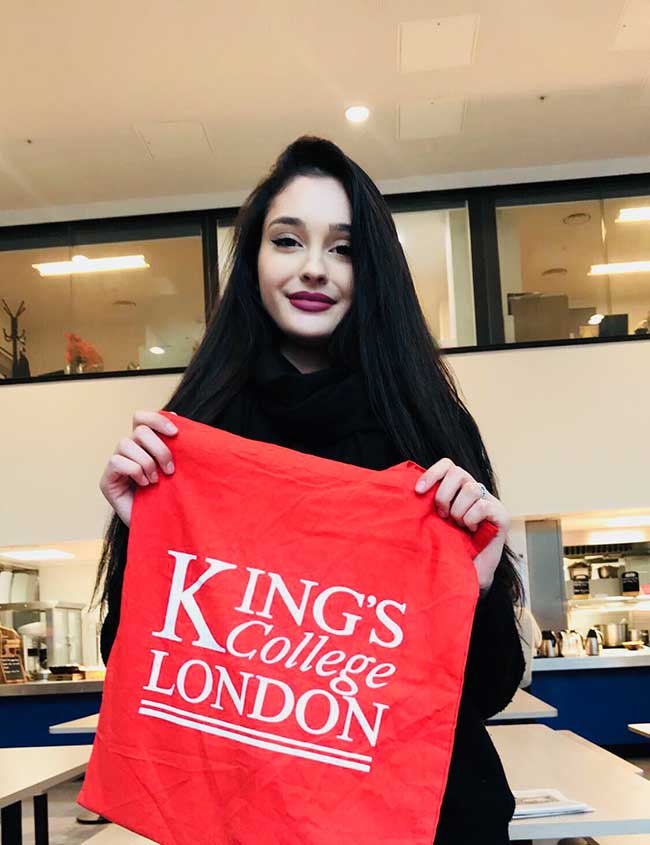 DLD College London Visit King's College