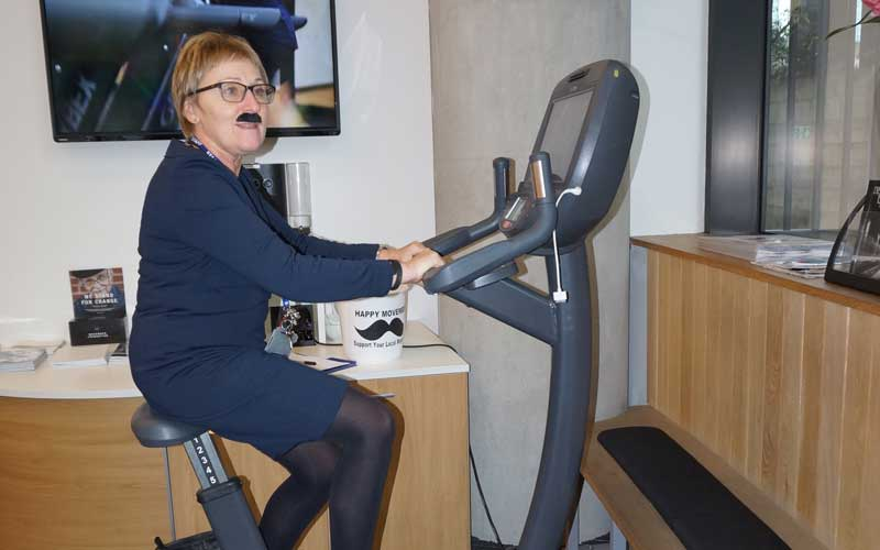 DLD College London Movember Cycling Challenge