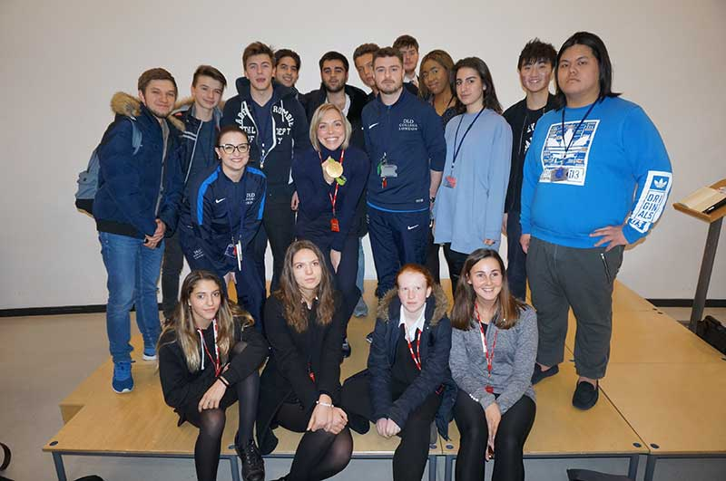 Olympian Kate Richardson-Walsh Visits DLD College London