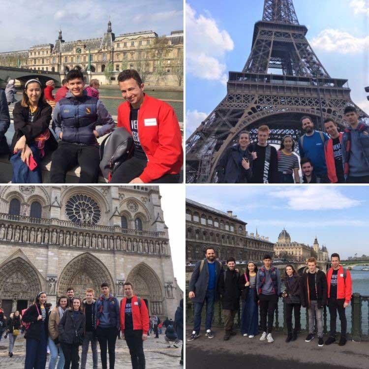 DLD College London A Level Student Trip to Paris