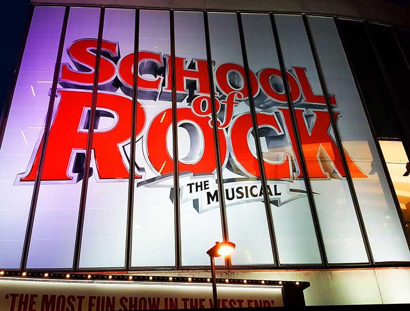 DLD College London School of Rock Trip
