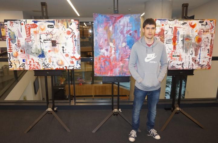 DLD College London Student Art Exhibition
