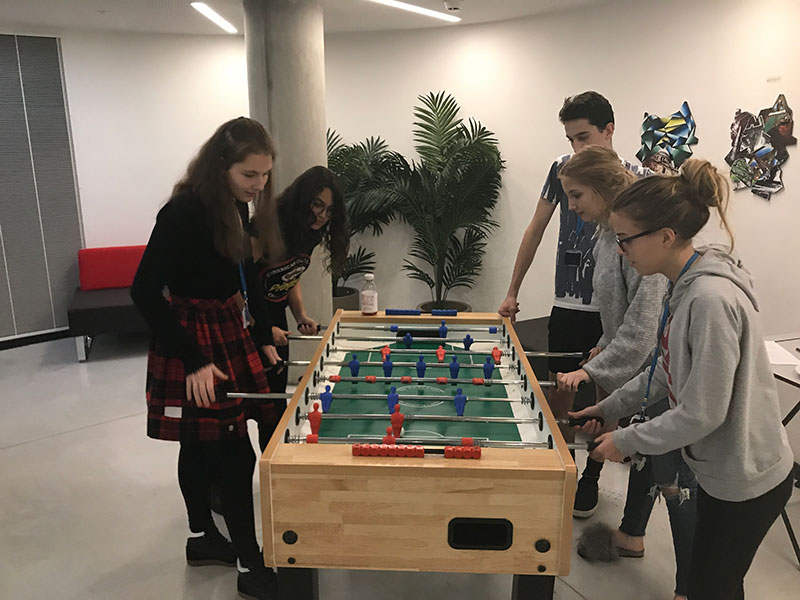 DLD College London Table Football Tournament