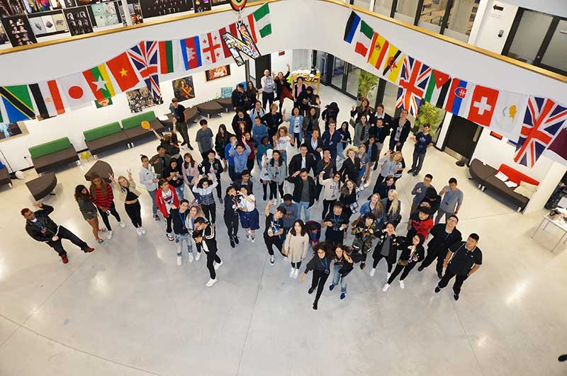 DLD College London Top Five Student Progress