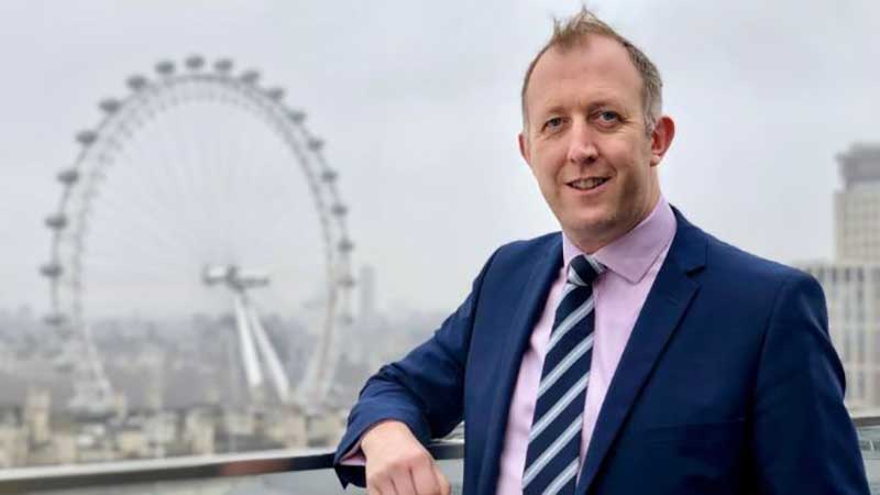 DLD College London Vice Principal Tom Hadcroft