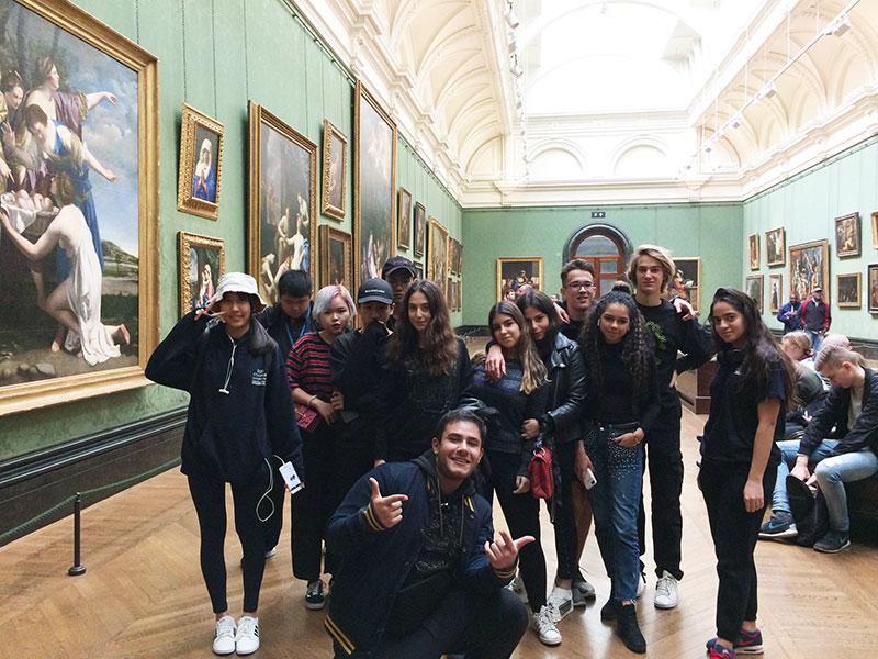 GCSE Art Students visit National Gallery